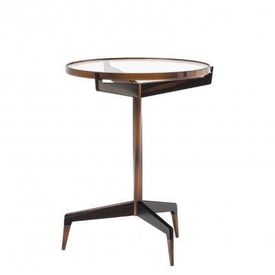 Calle Stella Side Table - WITH EXTRA CLEAR GLASS TOP