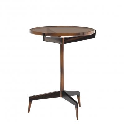 Calle Stella Side Table - WITH BRONZE GLASS TOP