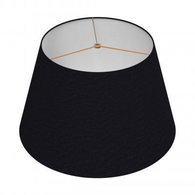 Large Drum Shade - NOIR/BRASS