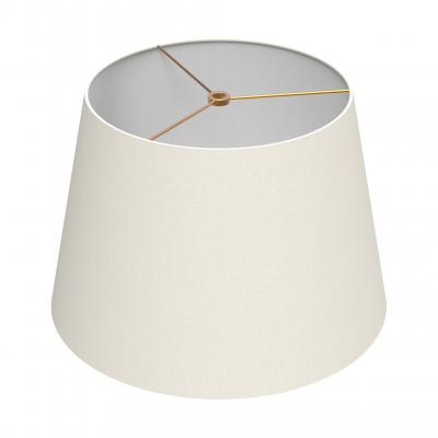 Small Drum Shade - IVORY/BRASS