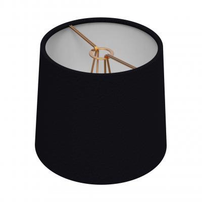 Chandelier Drum Shade - NOIR/BRASS