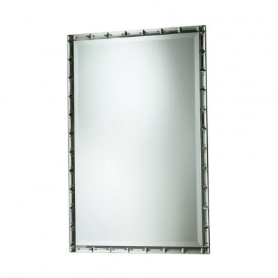 Marchesa Mirror - CLEAR W/ AMBER PINS
