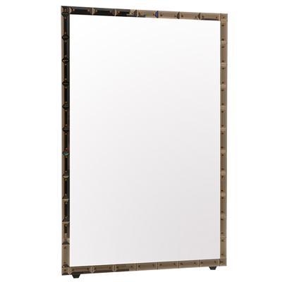 Marchesa Mirror - BRONZE W/ AMBER PINS