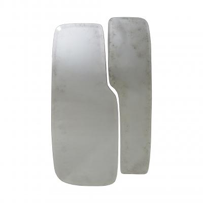 Stone Mirrors (pair) - ANTIQUED CLEAR